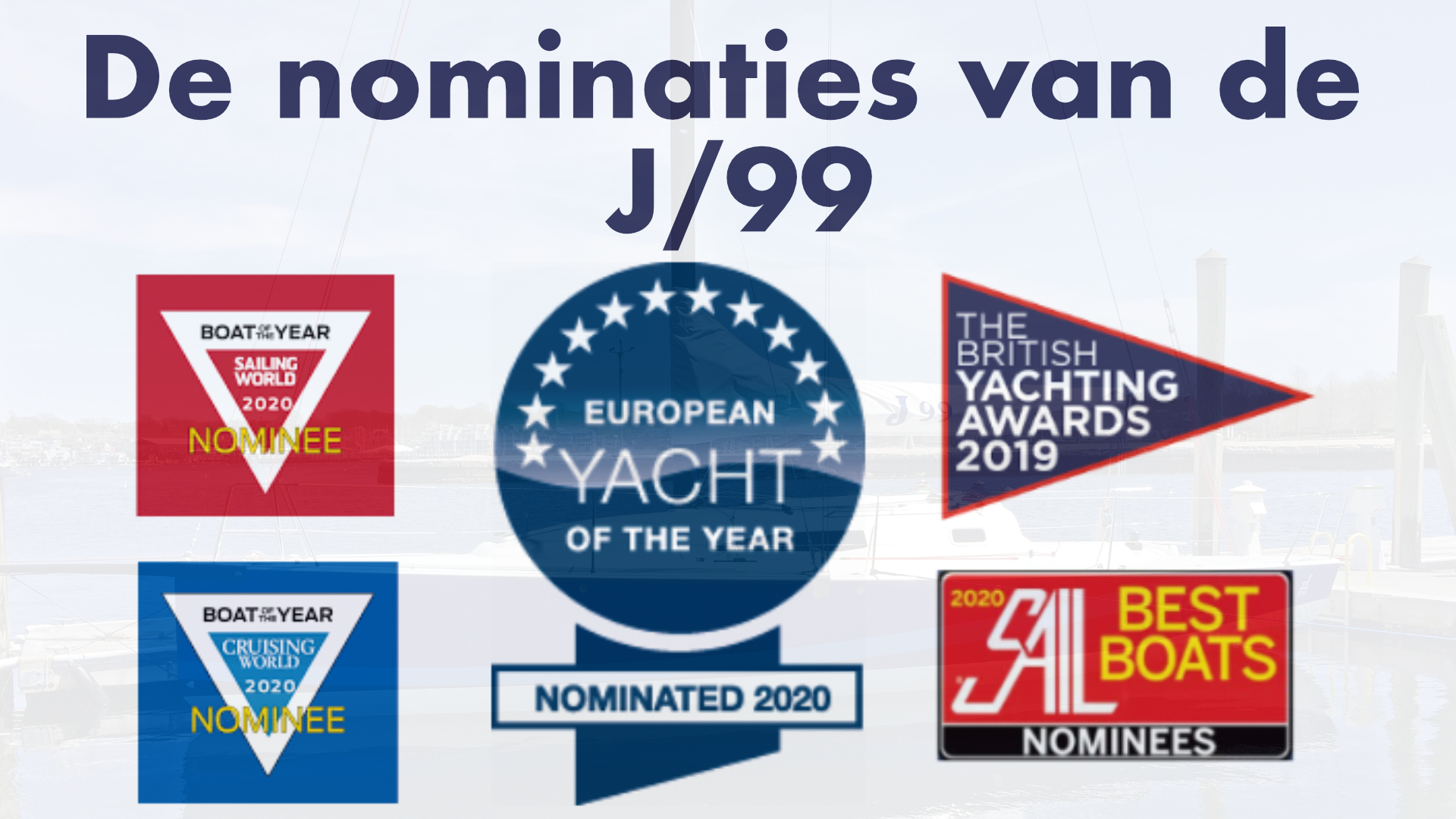 J 99 Sport Sailboat – Nominated for 5 yachting awards!